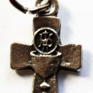 Blessed Sacrament Cross Charm B-40