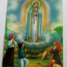 Our Lady of Fatima Hologram card