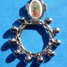 RR-8 Our Lady of Guadalupe Rosary Ring