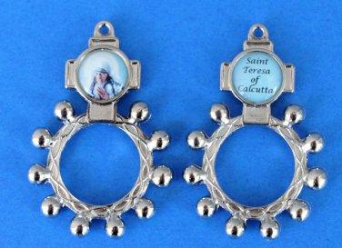 RR-12 St. Teresa of Calcutta Rosary Ring
