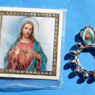 RR-16 Sacred Heart Rosary Ring