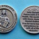 M-137 St. Dymphna Healing Saint Token - Stress, Anxiety & Mental Health