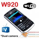 WIFI TV Dual SIM FM Bluetooth MP3 Mobile Cell Phone Babiken W920