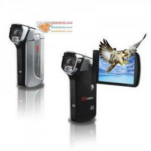 "3D 3.2"" Display 4X Zoom Camcorder DV1"