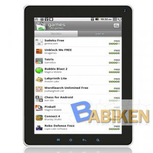 """Latest 9.7"""" IPS Screen Samsung A8 S5PC110 1GB Android 2.2 Tablet PC"""