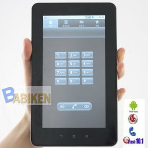 3G Phone Call Tablet PC -Android 2.2, Qualcomm Chip, GPS, BT
