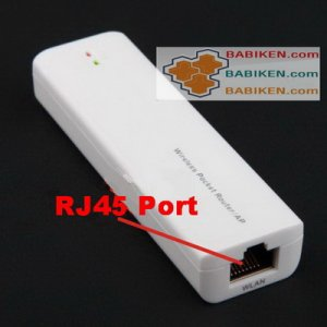Wireless WIFI Router, From RJ45 Cable Line to WIFI signal WR001