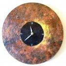 RUSTIC WALL CLOCK-FUNCTIONAL  WALL DECOR