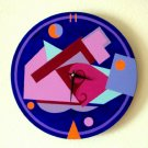 WALL CLOCK-ART DECO DESIGN-FUNCTIONAL ART