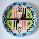 FUNCTIONAL ART - CERAMIC -  SOUTHWEST - WALL CLOCK