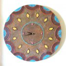 WALL CLOCK-SOUTHWEST DESIGN