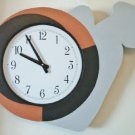 WALL CLOCK MODERN - UNIQUE - TIME CARRIER