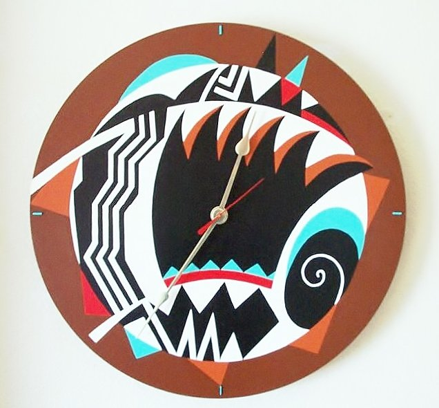 WALL CLOCK - SOUTHWEST DESIGN - FUNCTIONAL ART
