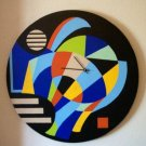 WALL CLOCK-ABSTRACT ART