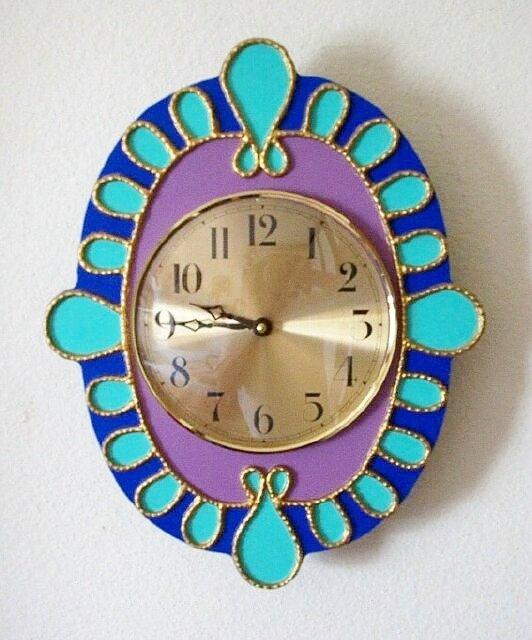 WALL CLOCK  SOUTHWESTERN DESIGN