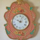 WALL CLOCK-VICTORIAN DECOR-FUNCTIONAL ART