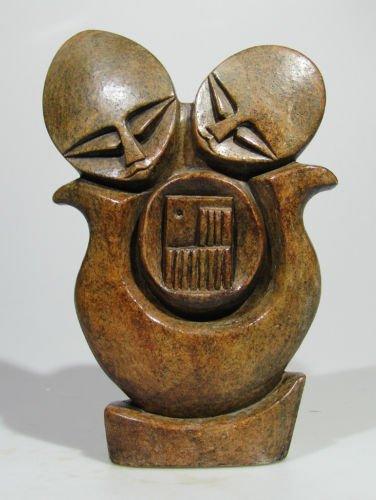 """""""Mbira Players"""" Shona Stone Sculpture from Zimbabwe!"""