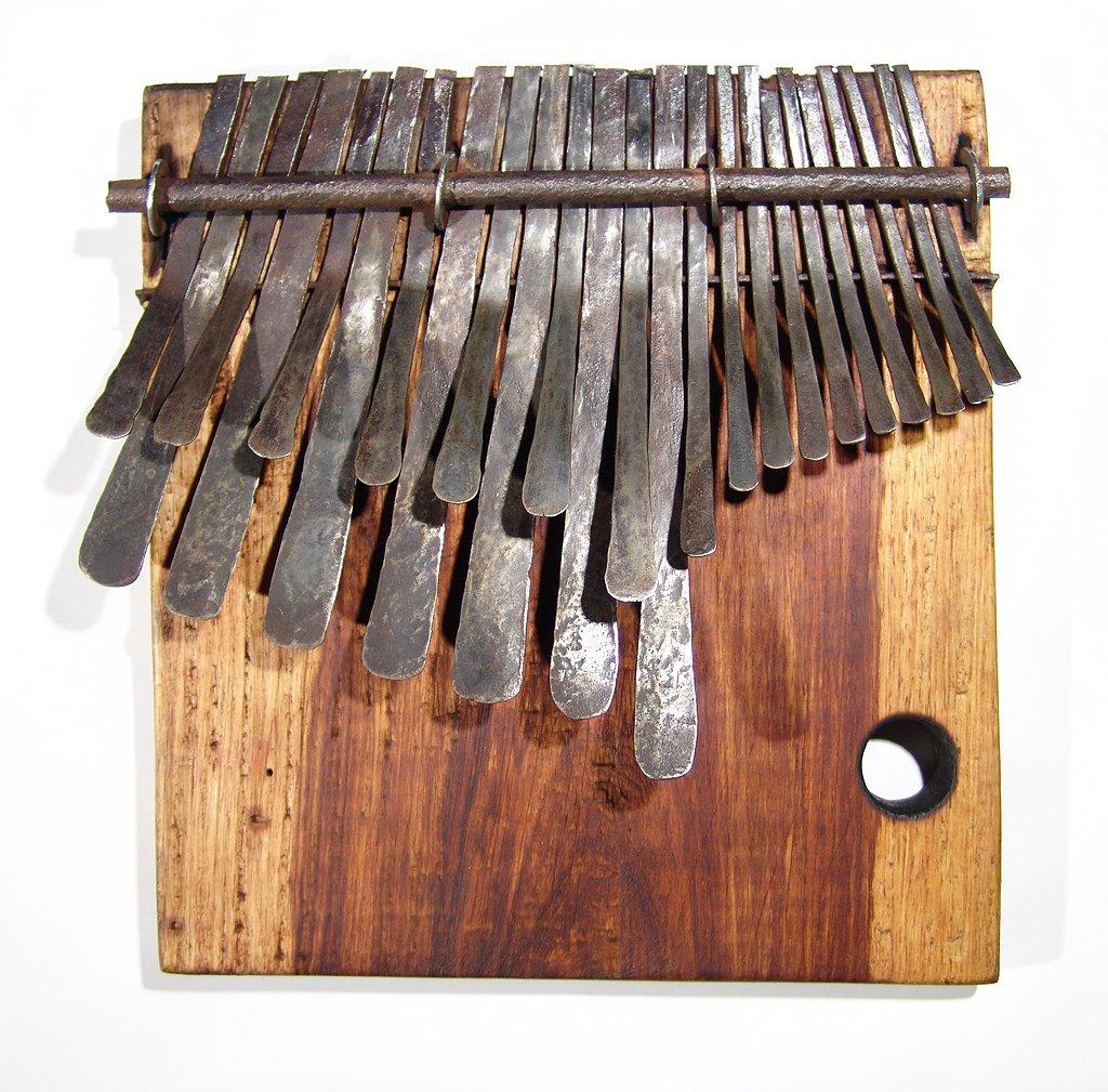 24 Key Large Jimmy Chifamba ELECTRIC Shona Mbira/Kalimba handmade in Zimbabwe!