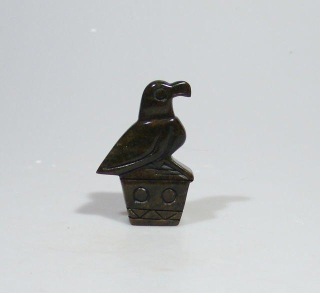 Quot zimbabwe bird serpentine shona stone sculpture handmade