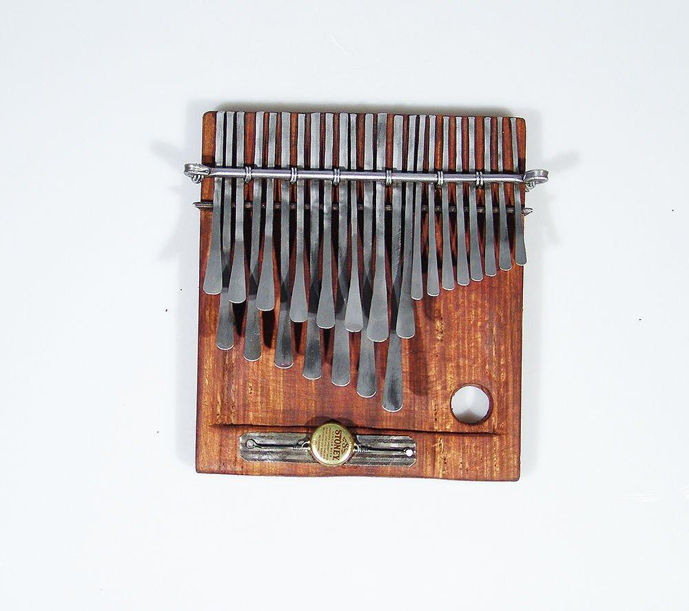 23 Key C.Vambe ELECTRIC DUAL PICKUP Sanza/Mbira/Karimba/Thumb Piano ~ Zimbabwe