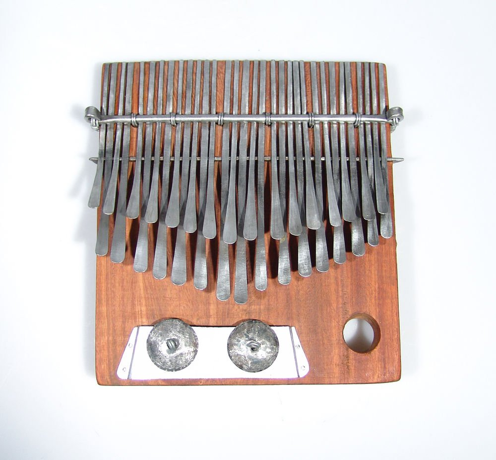 "32 Key Shona Njari ELECTRIC Mbira - 1/4"" Pickup - Finger Piano - Kalimba - Zim!"