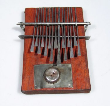15 Key C. Vambe Compact Shona Mbira/Kalimba from Zimbabwe Nyunga Nyunga Style!