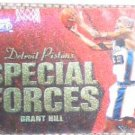 Grant Hill 99-00 Fleer Force Special Forces