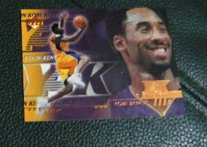 Kobe Bryant 00-01 Upper Deck #186 Y3K DEFENSE