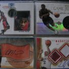 Dermarr Johnson 00-01 SPx Winning Materials Jersey + Autograph