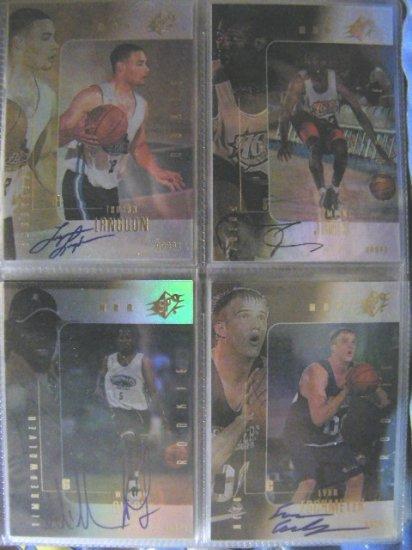 Jumaine Jones 99-00 SPx Autograph RC Rookie /2500