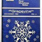AA Grapevine Magazine December 1982 Vol 39 No 7