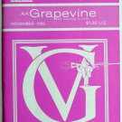AA Grapevine Magazine November 1992 Vol 49 No 6
