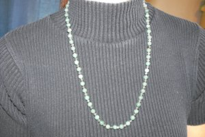N30 Green Adventurine and Larvikite Necklace 50% OFF
