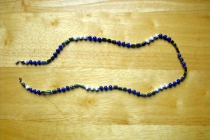 Blue, Green, And Grey Necklace 50% OFF