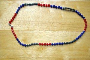 N27 Sapphire,Ruby,Green Adventurine Necklace  50% OFF