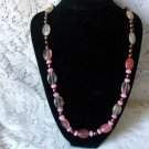 N115 Pink Watermelon Necklace