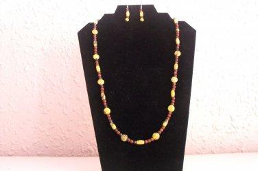 S127 Deep Woods Necklace Set
