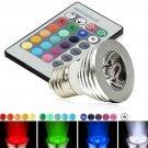 E27 16 Color RGB Magic Lighting Led Light Bulb