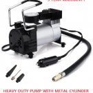 Heavy Duty Portable 12V 1 Car Tire Inflator Pump Air Compressor RV Truck 4X4