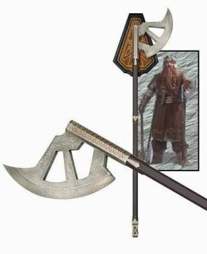 Gimli Walking Axe