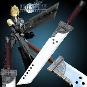 "Final Fantasy Zack Big Cloud Buster Sword 48"""