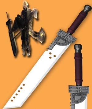 Final Fantasy Zack Mini Cloud Buster Sword 42''
