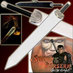 Berserk Guts Dragon Slayer Anime Sword