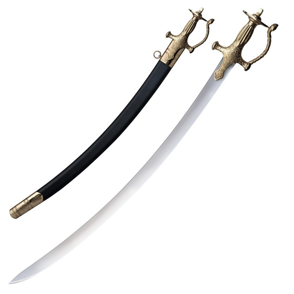 The Asian Royal Sword name of Talwar free wooden stand