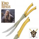 Lord of the Rings King Knives free wooden stand