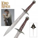 The Lord of the Rings Sting Sword of Frodo Baggins free wooden stand
