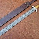 Handmade Damascus Steel Sword