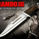 RAMBO III KNIVE with free 100% leather cover