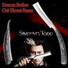 SWEENEY TODD DEMON BARBER KNIFE