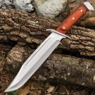 Damascus Renegade Bowie Knife